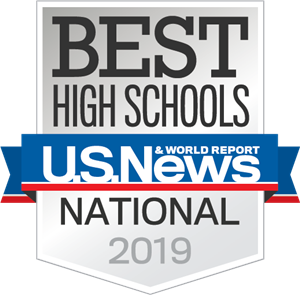 Named one of the Best High schools2019