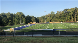 new LNC athletic field