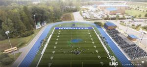 Proposed turfed athletic field